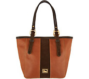 As Is Dooney & Bourke Florentine & Suede North/ South Tote - A311328