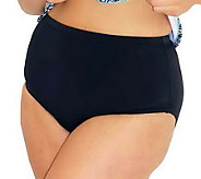 Fit 4 U Tummy Separates Brief-Style Swim Bottoms - A328028