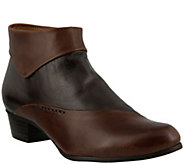 Spring Step Leather Ankle Boot - Gianfar - A355728