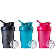 BlenderBottle Set of 3 Classic 20-oz. Bottles - A359028