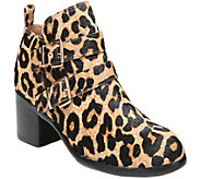 Franco Sarto Pony-Hair Ankle Boots - Raina - A361128