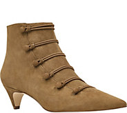 Nine West Leather Ankle Boots - Zadan - A361828