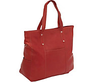Le Donne Leather Large Slip Pocket Tote - A363028
