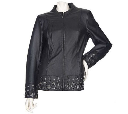 Bradley bayou leather jackets