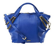 Kelsi Dagger Stellan Pebble Leather Convertible Satchel - A232829