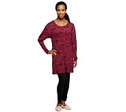 Carole Hochman Long Sleeve Top Capri Leggings Pajama Set - A235829