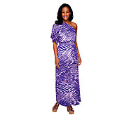 Lisa Rinna Collection Butterfly Sleeve Regular Maxi Dress - A253229