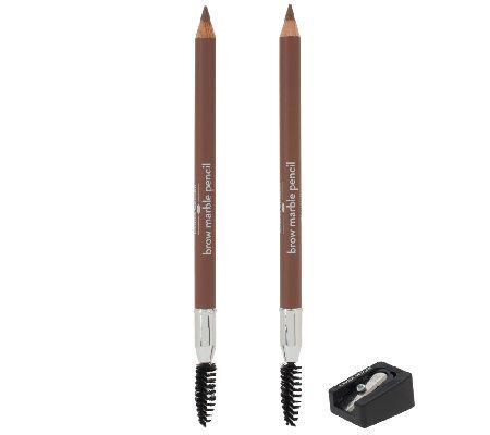 Laura Geller Brow Marble Pencil Duo With Sharpener
