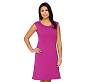 Isaac Mizrahi Live! Essentials Knit Dress w/ Seaming Detail - A260929