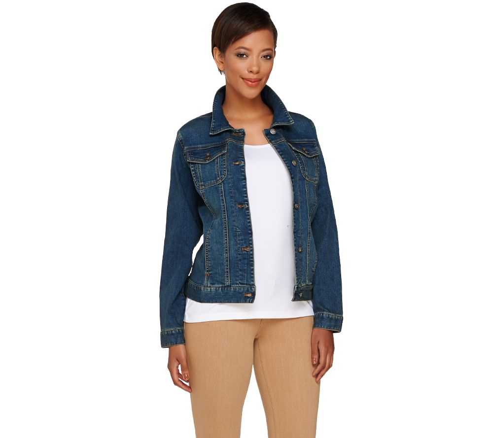 Ladies Colored Denim Jackets