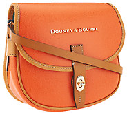 As Is Dooney & Bourke Claremont Leather Field Bag - A269429