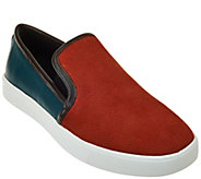 LOGO by Lori Goldstein Slip-on Sneakers with Goring - A271829
