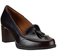 As Is Clarks Artisan Leather Pumps with Tassel Detail - Tarah Rosie - A281029