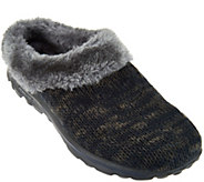 Skechers GOWalk Sweater Knit Faux Fur Clogs - Revamped - A282329