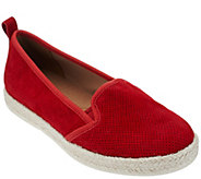 As Is Clarks Leather or Printed Fabric Espadrilles - Azella Major - A282629