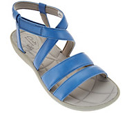 As Is Clarks Cloud Steppers Multi-strap Sport Sandals - Sillian Spade - A285529
