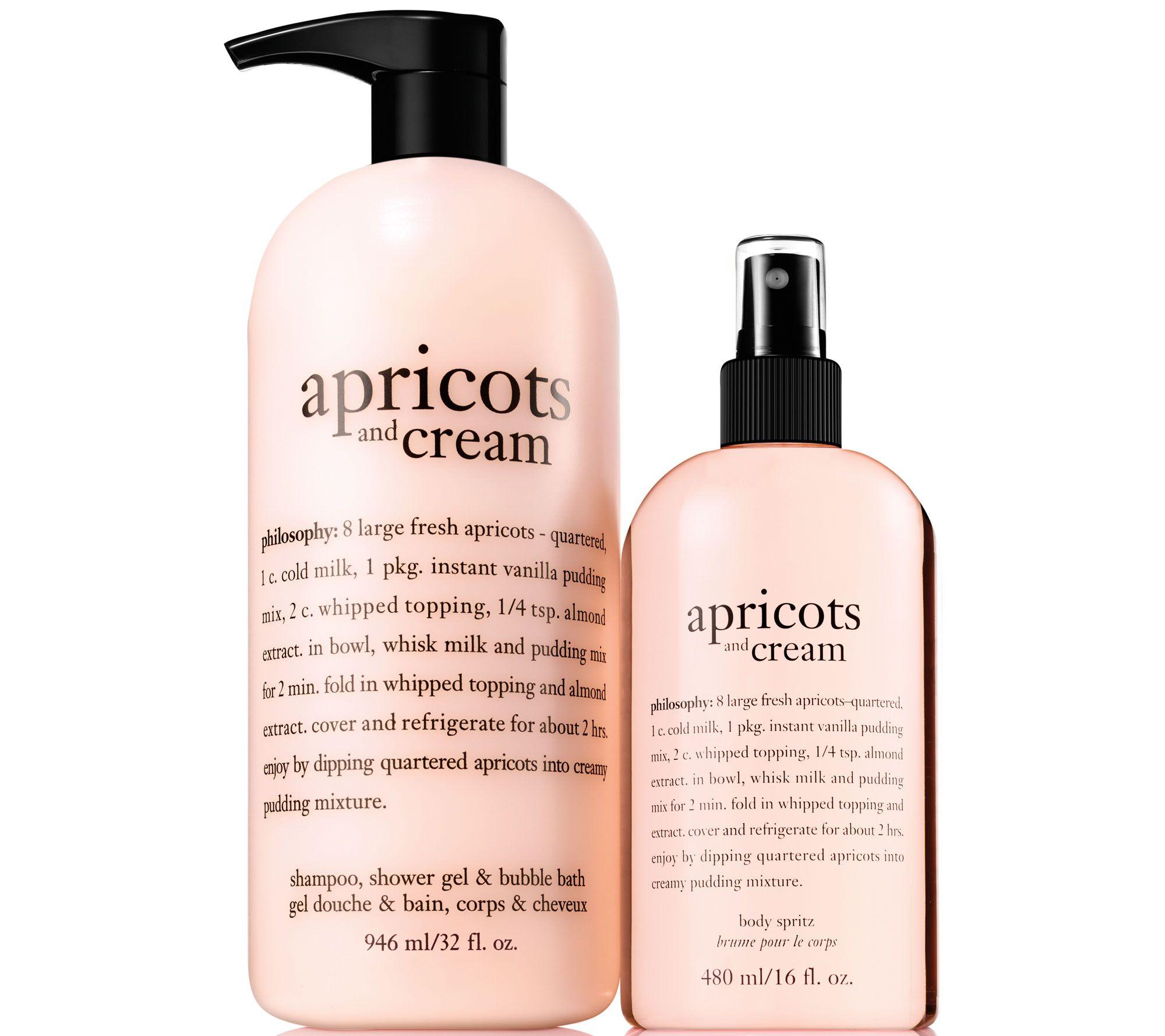 philosophy bath body beauty qvc com philosophy super size shower gel body spritz duo a294829