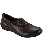 Earth Origins Leather Slip-on Shoes - Leona - A296229