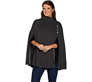 G.I.L.I. Sweater Cape with Button Details - A299529