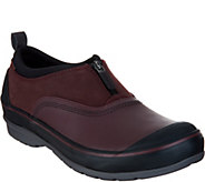 Clarks Waterproof Leather Zip Front Shoes - Muckers Trail - A299829