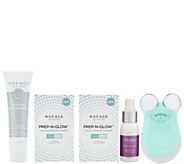 NuFACE Mini Device with Leave-on Gel Prep&Glow Pads & Mist - A304829
