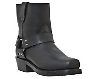 Dingo Mens Leather Motorcycle Boots -Rev Up - A321029