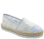 Kensie Lace Espadrille Slip-On Flatforms - Lavana - A336029