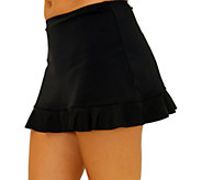 Fit 4 U Hips Solid Skirt with Flounce - A337029
