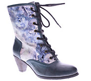 Spring Step LArtiste Leather Lace-Up Mid-CalfBoots - Narvi - A337929