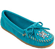 Minnetonka Leather Moccasins - Me To We Moc - A338529