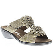 Flexus by Spring Step Leather Slide Sandals - Loredana - A340429