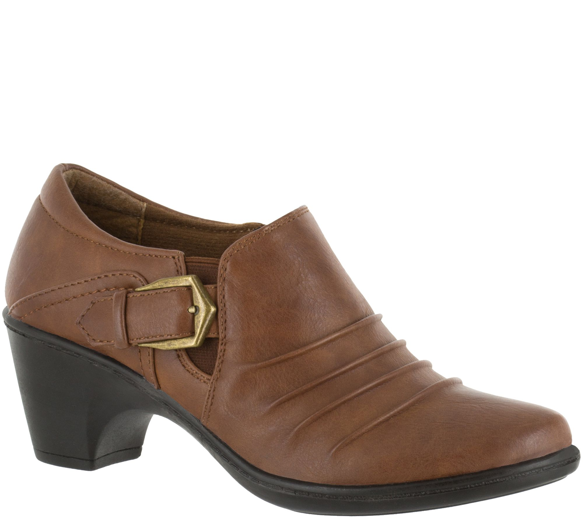 Easy Street Booties With Side Zip Burnz Page 1 Qvc Com