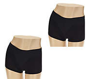Barely Breezies Set of 2 Invisi-Brief Panties - A232430