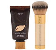 tarte Amazonian Clay Foundation w/ Limited Edition Deco Brush - A270430