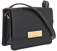 Isaac Mizrahi Live! Whitney Mini Leather Shoulder Bag - A271230