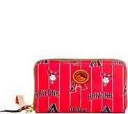 Dooney & Bourke MLB Nylon Diamondbacks Zip Around Phone Wristlet - A281730