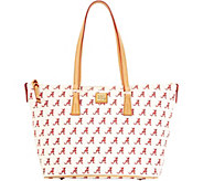 Dooney & Bourke NCAA University of Alabama Zip Top Shopper - A283230