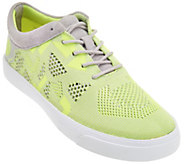 As Is Clarks Somerset Knitted Lace-up Sneakers - Glove Glitter - A283630