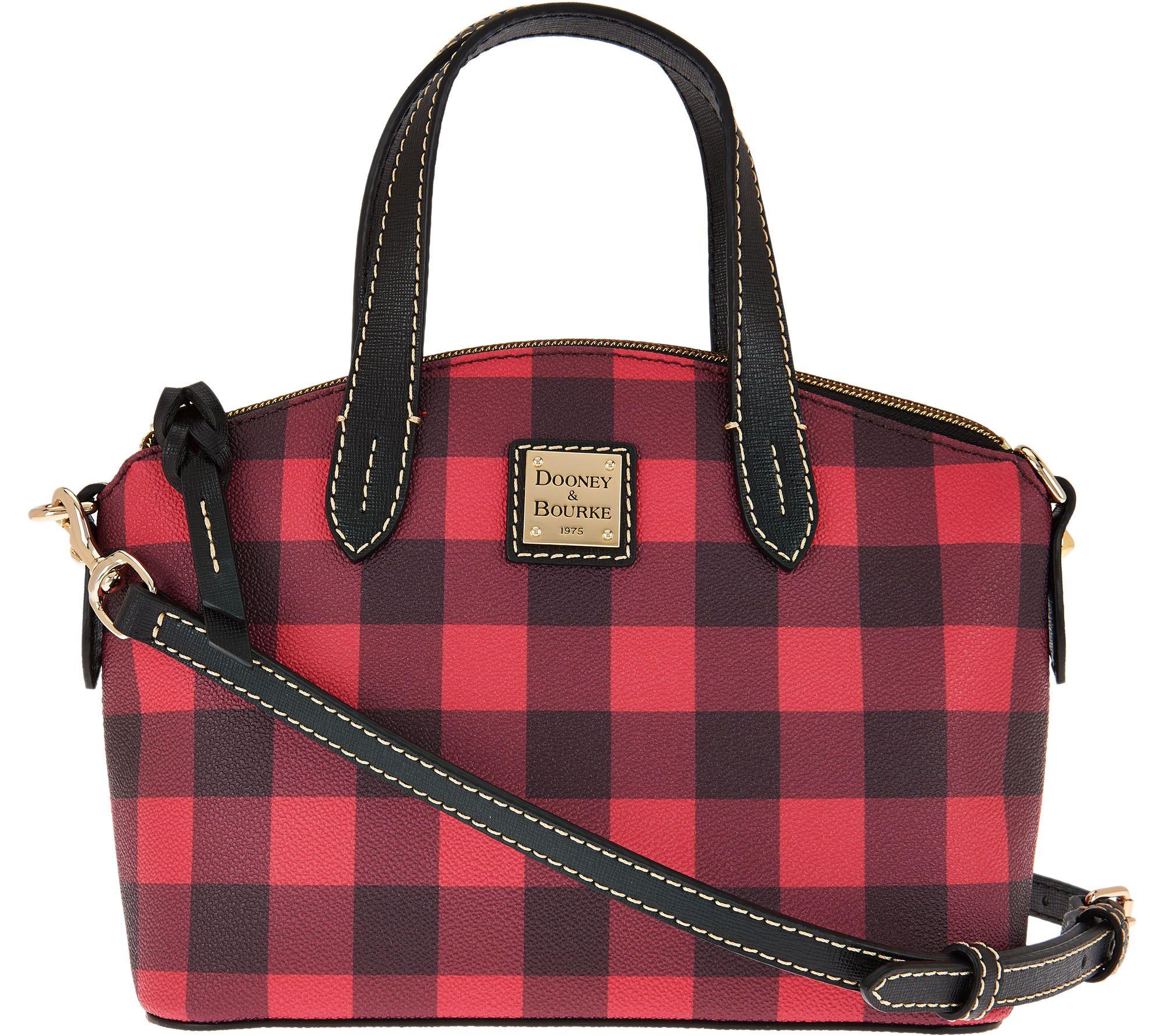 Dooney And Bourke Red Plaid Handbags - HandBags 2018