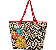 Vera Bradley Straw Beach Shopper - A292930