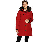 Arctic Expedition Womens Quilted Down Coat - A296130