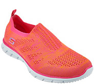 As Is Skechers Flat Knit Slip-On Sneakers - Stunner - A296430