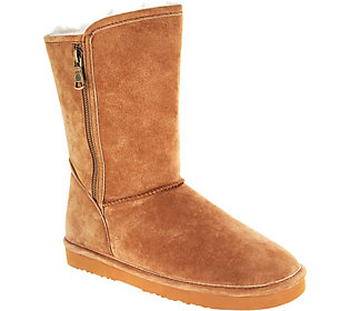 Lamo Water and Stain Resistant Suede Boots