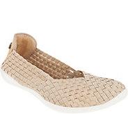 Bernie Mev Basket Weave Slip On Shoes - Catwalk - A304530