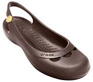 Crocs Jayna Croslite Slingback Flats - A331930