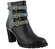 Spring Step LArtiste Leather Ankle Boots - Bridie - A355930