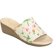 Aerosoles Heel Rest Wedge Slide Sandals - Florida - A358130