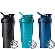 BlenderBottle Set of 3 Classic 28-oz Bottles - A359030