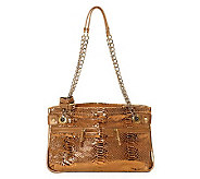 C. Lili by CoralieCharriol Leather Marielle East/West Bag - A202331