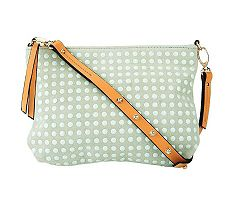 Kelsi Dagger Leather Cicely Adjustable Crossbody Bag w/ Stud Detail